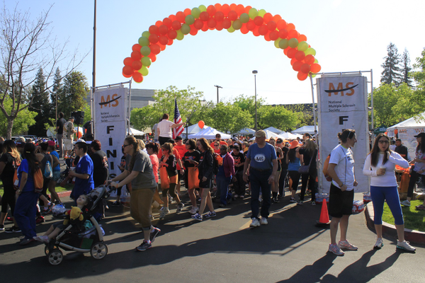 The 2014 Walk MS at Woodward Park in Fresno. Photo courtesy of the MS Society.