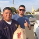 Ramirez handed out turkeys alongside Kings County Supervisor Richard Valle's Operation Gobble, which provided more than 500 Thanksgiving turkeys in 2014 to families in need. Photo by Richard Valle.