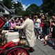 Firing up demonstrations allow visitors to see what it was like to get a Stanley steam car prepped for driving, often a 45 minute process. Credit Mike Ciosek