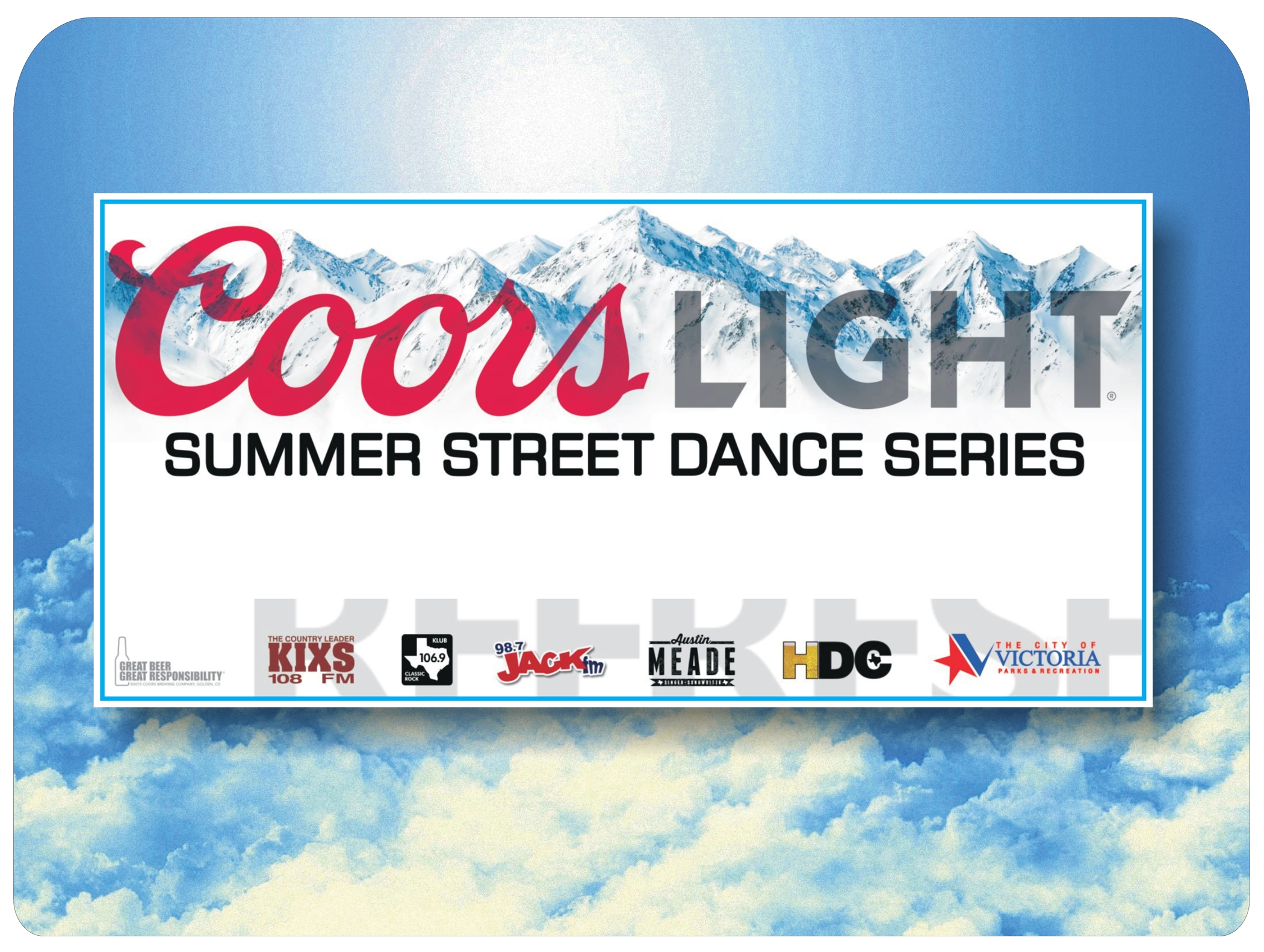 Coors 20light 20summer 20street 20dance 20series 202015 20  20banner logo artwork