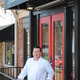 Andrew Patten the chef at Spence 312 pictured outside the restaurant on South High Street He previously ran Spence Cafe in West Chester for 14 years