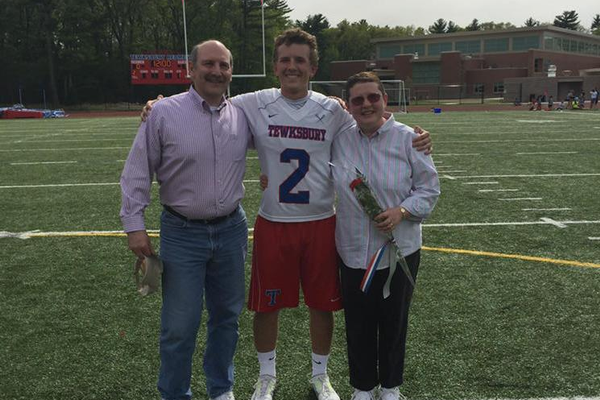 Scott Pastorello and his parents.