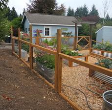 Medium fence 20sample
