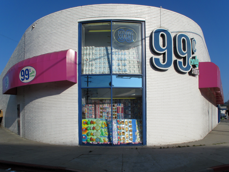 Pictured Is The 99 Cents Only Location In Hollywood Photo Courtesy Of Wikimedia Creative Commons