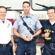 LR Captain Joe Robidoux Lieutenant Greg Prew and Private Brad Kwatcher SAFE Coordinator