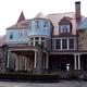 The Graceland Mansion, once a frat house, now serves as an inn.