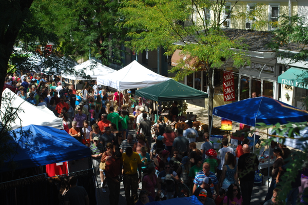 Today, the Street Fair attracts thousands of people to Kennett Square.