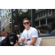 "Casey Hoeger, West Grove: ""Kennett Square is a nice small town. It's kind of like a hidden gem because they have that small-city feel, with all these things to do, but it's still a small town. And they are dog friendly!"""