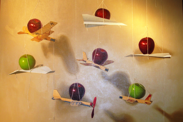 'Air Show' by Kennett Square artist Robert Jackson.