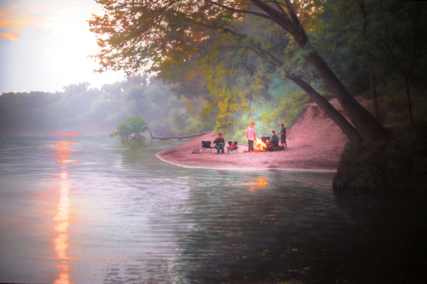 Scott Prior's Prior's 'Bonfire on the River' (2011).