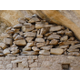 Intricate stonework is a trademark of the Ancient Puebloans evident throughout Mesa Verde. This remaining self supporting stack can be viewed at Balcony House.