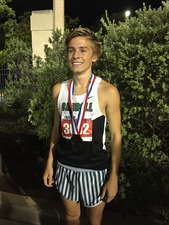 Reed Brown at the 2015 State Meet Photo courtesy of Hobert Brown