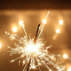 Sparklers are common during the Fourth of July but the wire inside them heats to about 2000 degrees