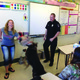 Members of the community shared their work at Career Day with Eisenhower Junior High School students.