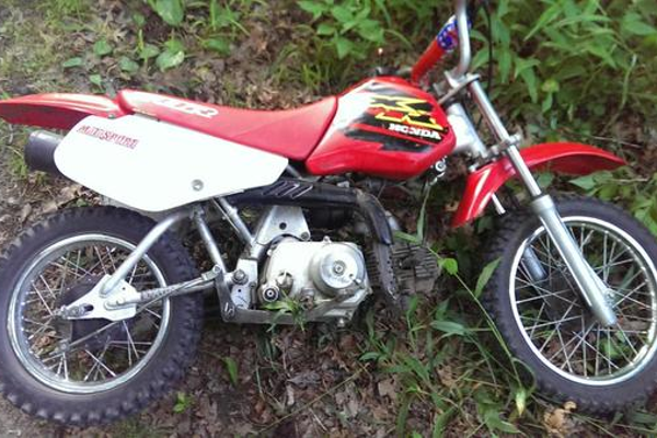 Do you know who owns this dirt bike. It was left near East Street.