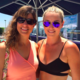 Jill with Olympic skier Lindsey Vonn