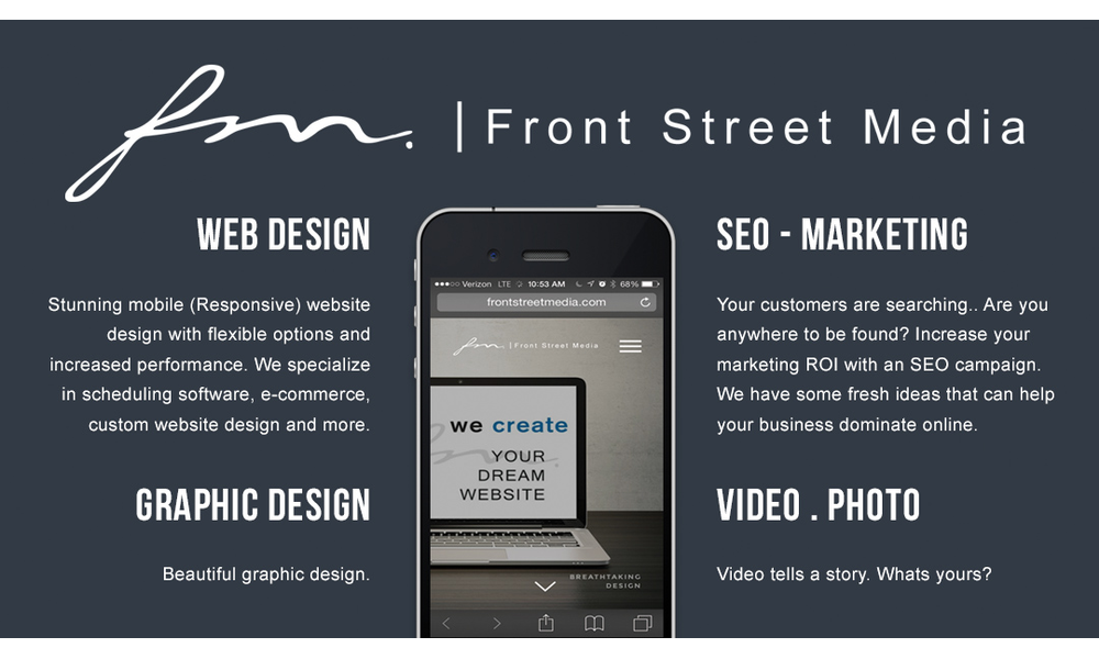 Front Street Media - Web Design and SEO