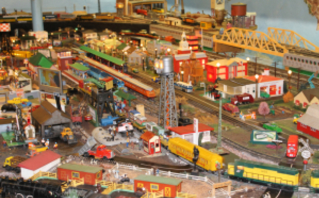 The Toy Train Barn