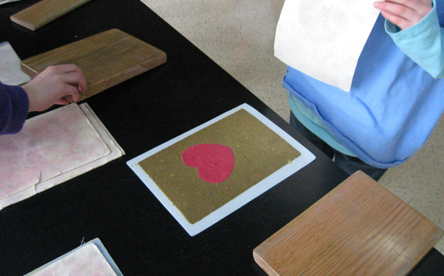 Paper Discovery Center Paper Heart
