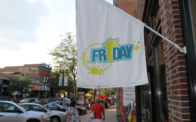 1st Friday Sign