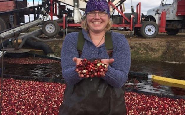Julie Henning in Cranberry Marsh