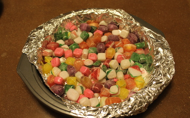 Candy in Pan