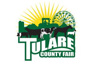 Medium tulare county fair logo