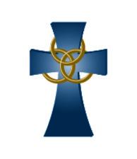 Medium holytrinity cross 20only