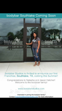 bodybar Studios to Open its First Franchise Location in Southlake - Aug 13 2015 1044AM