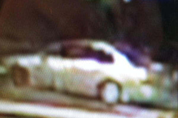 This is believed to be the getaway car used in the armed robbery of Main Street Liquors.