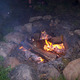 Thumb campfire