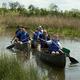 Thumb canoe