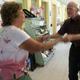 Linda Drohan & John Collins do a little impromptu swing dancing.