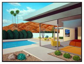 Medium 1 snake  modern love  18x24  acrylic on canvas  1