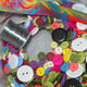 materials for button wreath
