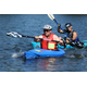 Team Triple Stouts kayaker and Christian Kershner