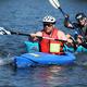 Team Triple Stouts kayaker and Christian Kershner