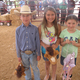 Peewee rodeo contestants: Colton Hein, Taylor Bacchi and Natalia Giddings