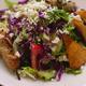 The Mediterranean Chicken Skewers Salad