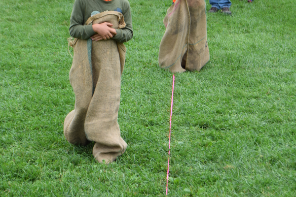 The sack races and other field games and races were a big hit with kids at the 2nd Annual Tewksbury Fall Harvest Fair.