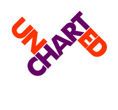 Medium uncharted logo with tag and date 20copy