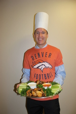 John Phillips President of Methodist Mansfield Medical Center says his favorite gameday recipe is chicken wings
