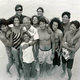 Sal, far right, the seventh of eight sons and a daughter in the Paskowitz family, who grew up on beaches around the world without formal education.