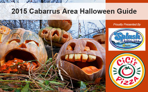 The 2015 Cabarrus Area Halloween Activities Guide Presented by Splash Auto Spa and CiCis Pizza - Oct 01 2015 0200PM