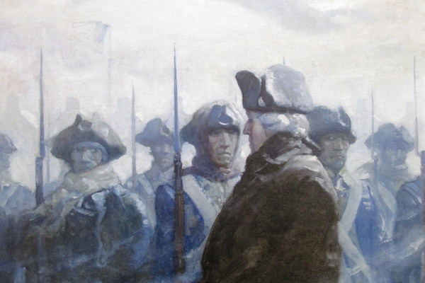 'Washington Reviewing His Troops'