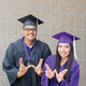 These are more pictures from Amina Kahn's Weber State photo shoot. In some, she is pictured with Patrick Robello.