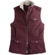 The Fire Hose Berber Vest has a tough canvas exterior, but a soft synthetic fleece lining.