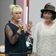 Linda Trudeau with Tsune Roberts right who demonstrates a 1920s look