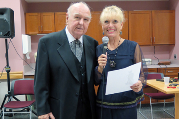 Jim O'Donnell and Linda Trudeau