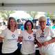 Volunteers from Marshall Medical Center: Dina Whitney, Jeanne Appell and Anne Lindsay